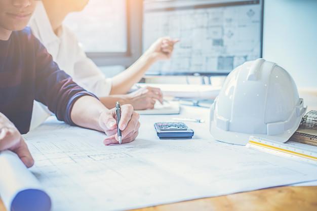engineer-design-working-blueprint-planning-concept_1418-2263