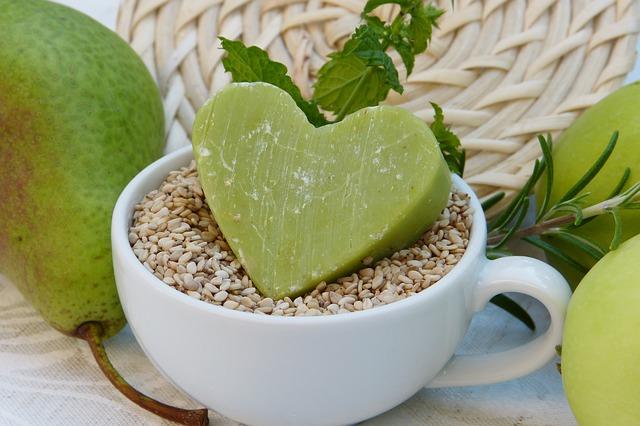 zelené mýdlo